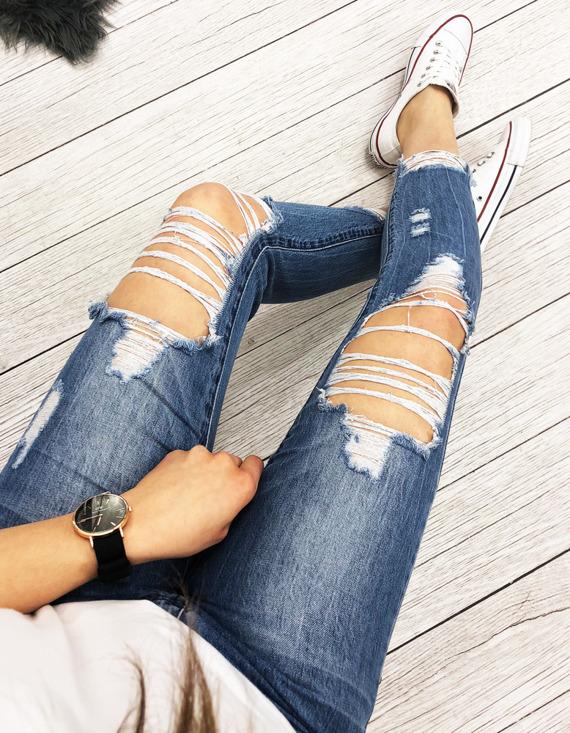 Spodnie damskie rurki