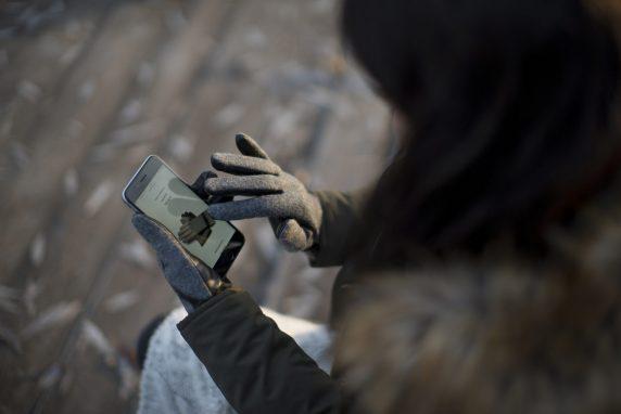 Rękawiczki, które umożliwiają obsługę ekranu dotykowego
