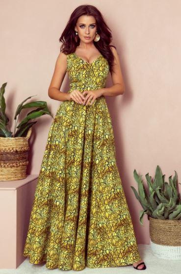 Czy złota sukienka maxi pasuje do każdego?