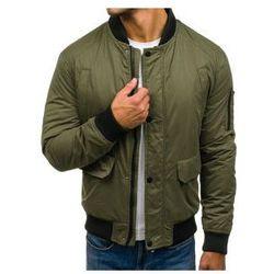 W jaki sposób nosić męskie kurtki bomberki?